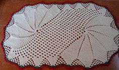 trabalho feito em croche com barbantes piratinga n.8 R$ 63,00