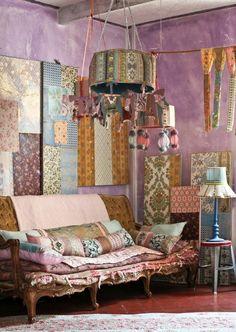 Beautiful boho --- love all the fabrics & patterns!!