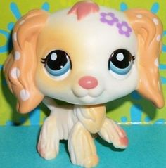 Littlest pet shop #1615 cocker spaniel