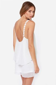 Daisy-ing is Believing Ivory Dress at LuLus.com!  have this in black