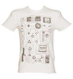 Men's Old School Gamer Vintage T-Shirt from TruffleShuffle xoxo