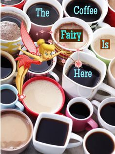 The coffee fairy is here!