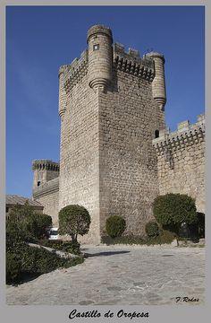 Castillo de Oropesa,Toledo Spain