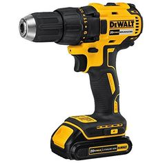 DEWALT Max Brushless Cordless Drill (Charger Included and Included) at Lowe's. The DEWALT MAX Lithium-Ion Cordless Brushless Compact Drill/Driver is designed with a high performance brushless motor that delivers 340 unit Cordless Drill Batteries, Cordless Drill Reviews, Power Tool Batteries, Power Tools, Pressure Pump, Big Battery, Hammer Drill, Work Tools, Drill Driver