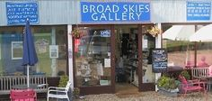 Broad Skies Gallery Ludham Bridge, Norfolk England