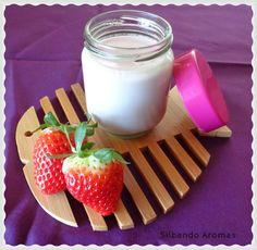 Silbando Aromas: Yogur de fresa (con infusión de frutas)