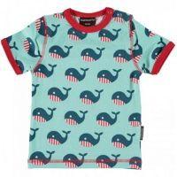 MM Kurzarm-Shirt Whale, BIO