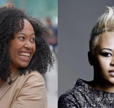 Emeli Sande is quickly becoming a British music sensation. check out her natural hair when it was curly. Natural Hair Types, Natural Beauty, Coiled Hair, Emeli Sande, Afro Textured Hair, Love Your Hair, British Invasion, Naturally Beautiful, Curly Girl