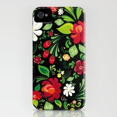 russian flowers iPhone Case    yes