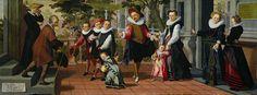 Pietersz., Pieter (I) -- Rijke kinderen, arme ouders, 1599. Рейксмузеум: часть 1