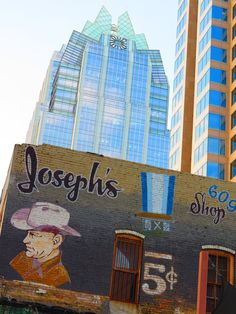 Joseph's & the Frost Bank Bldg.