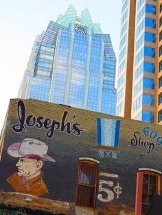 Joseph's & the Frost Bank Bldg.