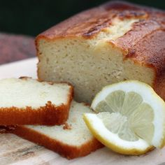 The Barefoot Contessa's Lemon Yogurt Bread--deliciously sweet and tart, this is a perfect dessert bread.