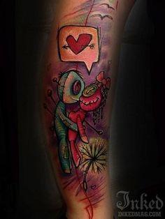 Voodoo tattoo ❤️