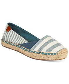 df58a280bfdd Sperry TopSider Womens Katama Cape Ballet Flat Prints Dusty Teal Stripes 7  M US
