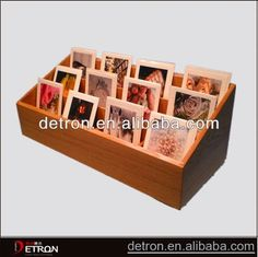 Hot sale Good quality wooden greeting card display