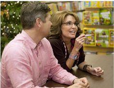 Book signing, Tod and Sarah