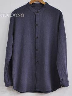 Casual shirts Republic of china Solid color Men Base Shirts