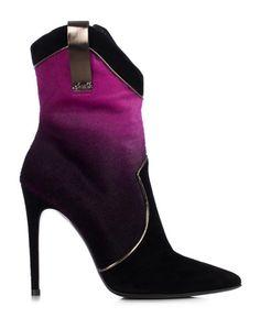 Loriblu shoes Fall/Winter 2014-2015: fuchsia black bootie