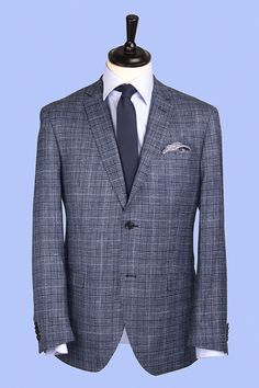 Checkered suit - Want to know how to wear this suit? Take a look at our Lookbook on pakkend.nl! #suits