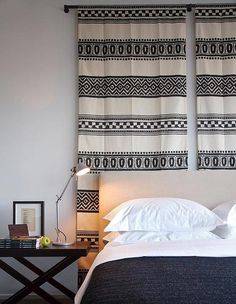 No headboard? No problem! See how @justinablakeney masters this look! {#design: Phorm Interiors}