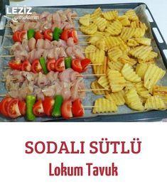 Sodalı Sütlü Lokum Tavuk