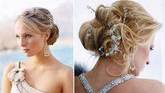 Depois dopost com sugestões de vestidos de noiva para casamento na praia, fizemos uma seleção de penteados para inspirar as noivas que vão se casar à beir