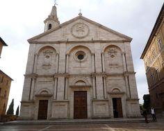 Bernardo Rossellino - Duomo di Santa Maria Assunta, 1459 Pienza