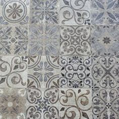 Betontegels - Noviton Porto 60x60 Patio Makeover, Concrete Patio, House Front, Home Remodeling, Tiles, Home And Garden, Shabby, Backyard, Tapestry