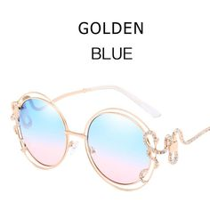 5b62ab94047 New Arrival Sexy Ladies Luxury Brand Designer Round Sunglasses Oversized  Hollow Out Gradient Lens Fashion Women Sun Glasses