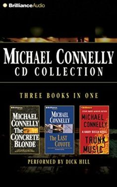 Michael-Connelly-CD-Collection-2-The-Concrete-Blonde-The-Last-Coyote-Trunk-Music-Harry-Bosch-Series-0