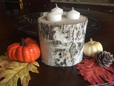 Items similar to Birch Wood Candle Holder, Farmhouse Candle Holder, Rustic Country Candle Holder on Etsy Candle Holders, Candles, Rustic, Unique Jewelry, Handmade Gifts, Wood, Birch, Farmhouse, Etsy