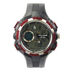 Special Design Quartz Analog-Digital Waterproof Silicone Band Wrist Watch Digital Watch, Quartz, Watches, Band, Accessories, Design, Sash, Wristwatches