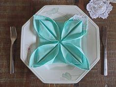 Flor de lótus decorando o prato