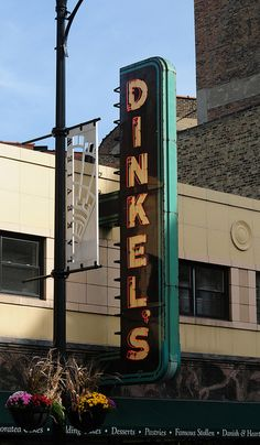 Dinkel's Bakery, Lincoln Avenue.