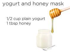 Yogurt and Honey Mask!