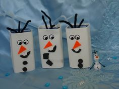 Olaf juice cartons - perfect for a Frozen themed birthday party or just for fun!
