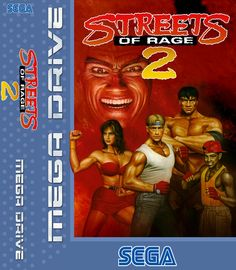 Streets of Rage II for the Mega Drive