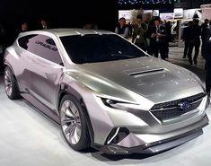 New Subaru Viviz concept Tourer at Geneva auto show 2018