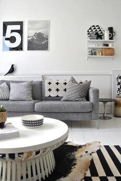 I LOVE this room, from Lovenordic Design Blog