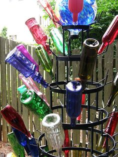 doesn't everyone need a bottle tree in their garden?