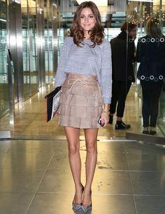 Olivia Palermo,las sudaderos están de moda