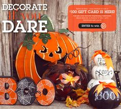 Enter to win a $100 Gift Card to Gordmans! No tricks, just treats! #DecorateIfYouDare