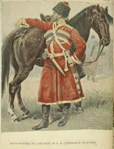 Russia. The Vinkhuijzen collection of military uniforms 1896