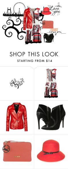 """""""Untitled #7100"""" by tailichuns ❤ liked on Polyvore featuring Just Cavalli and Nine West"""