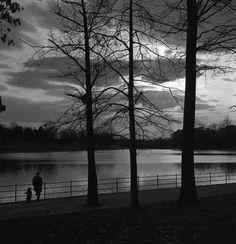 Frank Larson.Kissena Park. 1953  Undr