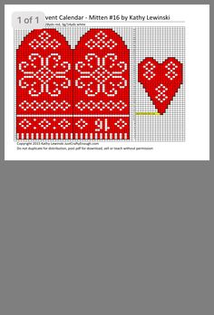 Knitted Mittens Pattern, Knit Mittens, Beaded Earrings, Garland, Gloves, Patterns, Knitting, Crochet, Christmas
