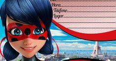 Invitación de cumpleaños Prodigiosa: Las aventuras de Ladybug gratis + BONUS