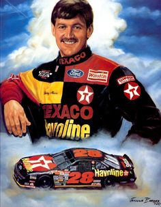 Davey Allison will always be my favorite driver.  He is missed