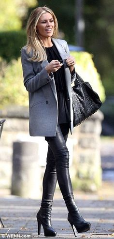 Well TBF if I looked that good in leather pants and boots i would wear them all the time and probably never take them off oxoxoxox